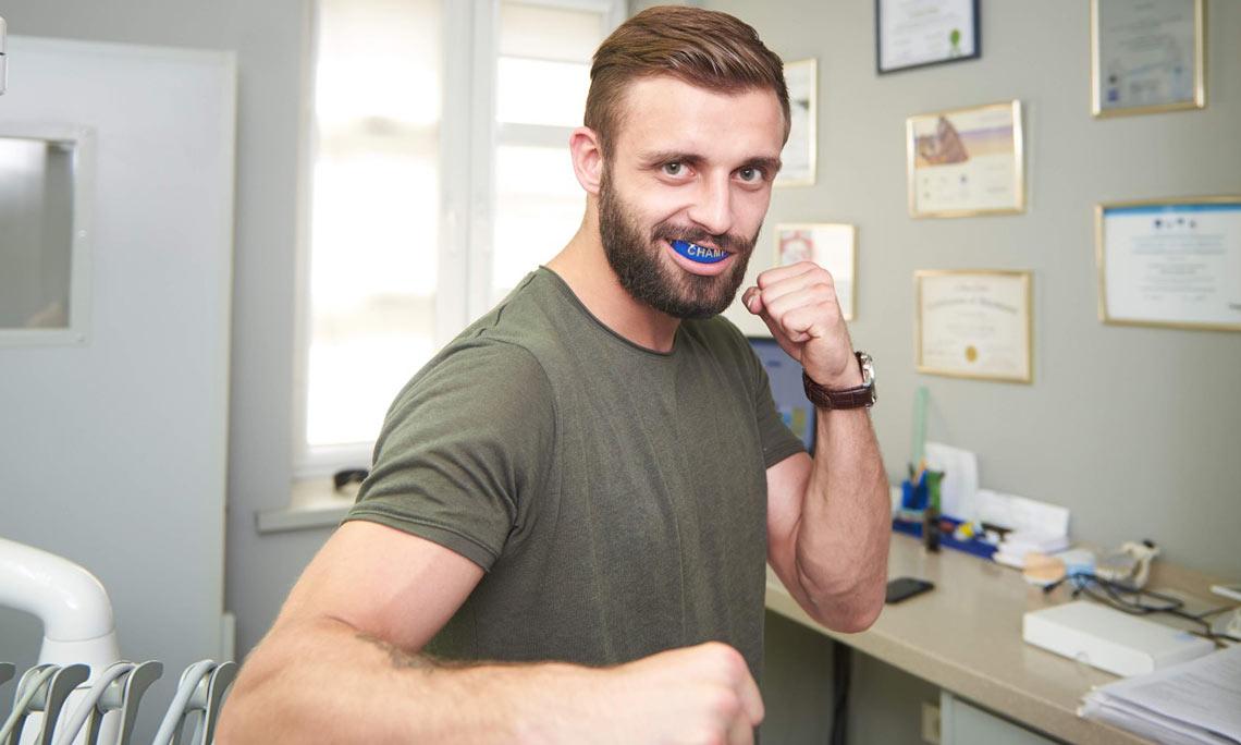 Профессиональные капы для зубов
