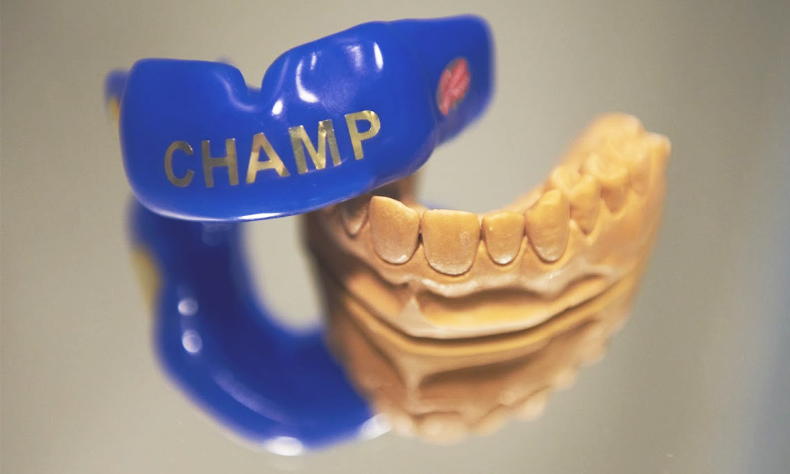 Спортивные капы для зубов
